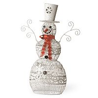 National Tree Company 24 in Metal Snowman Decor