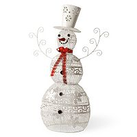 National Tree Company 36 in Metal Snowman Decor