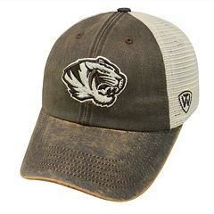 Adult Top of the World Missouri Tigers Scat Adjustable Cap