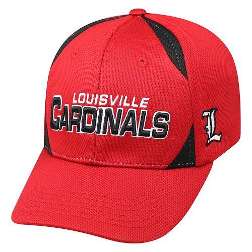 Adult Top of the World Louisville Cardinals Pursue Adjustable Cap