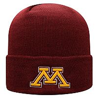 Adult Top of the World Minnesota Golden Gophers Tow Knit Beanie