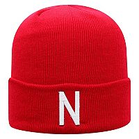 Adult Top of the World Nebraska Cornhuskers Tow Knit Beanie