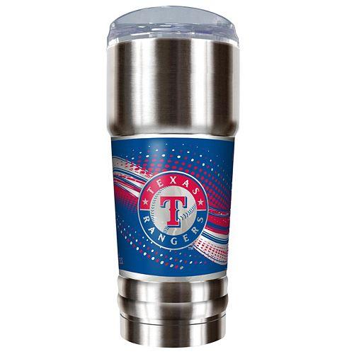 Texas Rangers 32-Ounce Pro Stainless Steel Tumbler