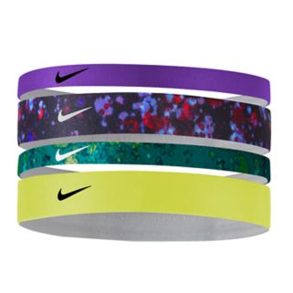Nike 4-pk. Assorted Skinny & Thick Headband Set