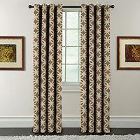 Arlee Window Accents Florinda Jacquard Room Darkening Window Curtain