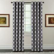 Arlee 1-Panel Griffith Print Window Curtain