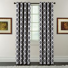 Arlee 1-Panel Griffith Print Window Curtain