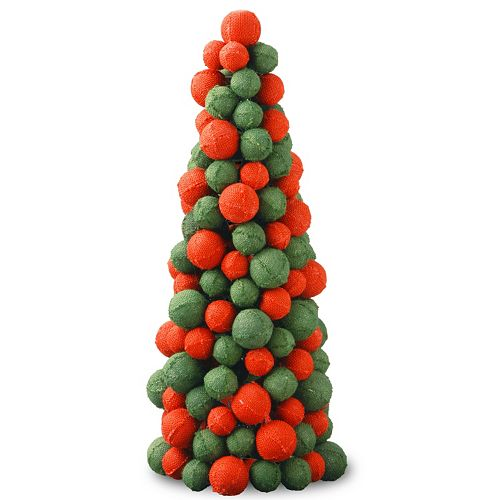 "National Tree Company 24"" Christmas Faux Cone Tree"