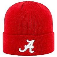 Adult Top of the World Alabama Crimson Tide Tow Knit Beanie