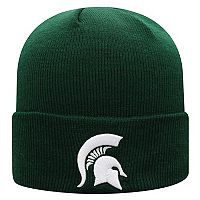 Adult Top of the World Michigan State Spartans Tow Knit Beanie