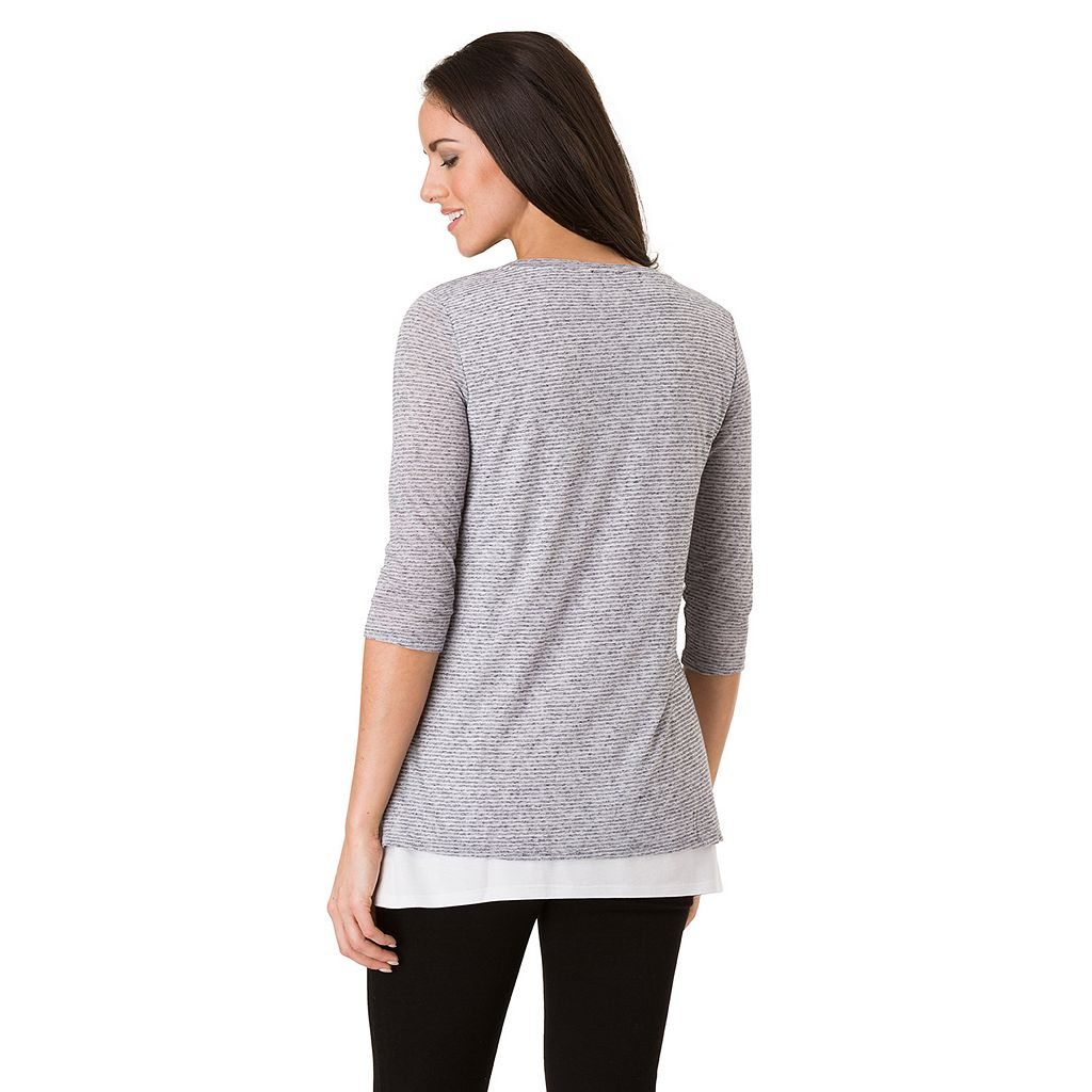 Women's Haggar Shark-Bite Tunic