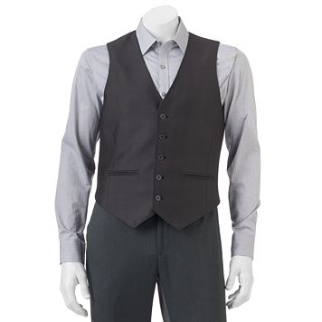 Men's Apt. 9® Modern-Fit Textured Woven Vest