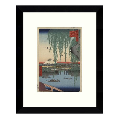 Yatsumi no Hashi Framed Wall Art