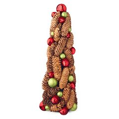 National Tree Company 18' Natural Pinecone Christmas Table Decor