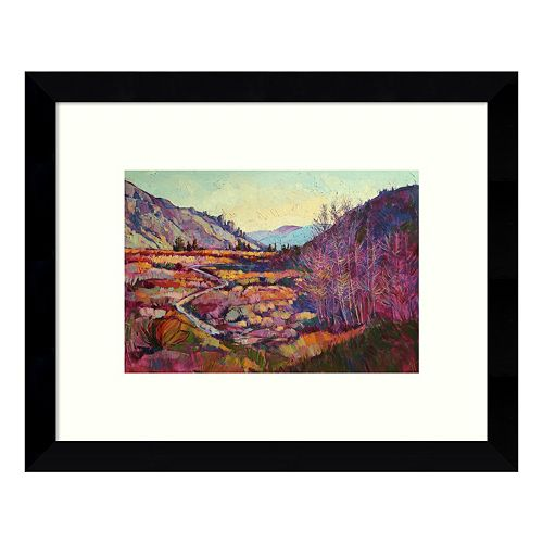 Sierra Shadow Mountains Framed Wall Art