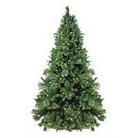 7.5-ft. Pre-Lit Artificial Mixed Cashmere Pine Christmas Tree