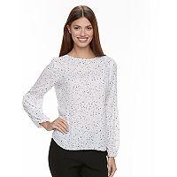 Women's Apt. 9® Bubble-Sleeve Top