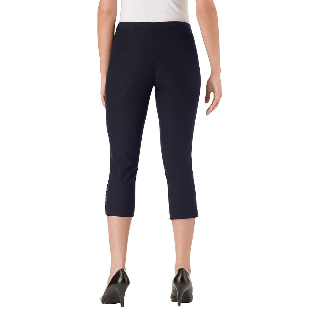 Women's Haggar Flatten It Pull-On Capris