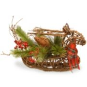 "National Tree Company 14"" Deer Christmas Table Decor"