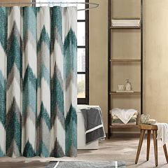 INK IVY Alpine Printed Shower Curtain