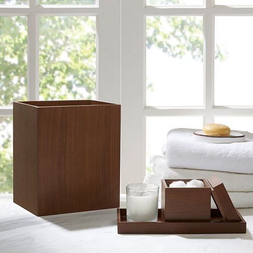 Madison Park Oakwood 3-piece Bath Accessory Set