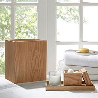 Madison Park Oakwood 3 pc Bath Accessory Set
