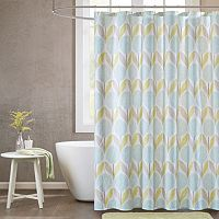 Urban Habitat Stella Printed Shower Curtain