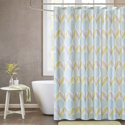 Urban Habitat Stella Printed Shower Curtain