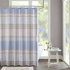 Urban Habitat Clarice Printed Shower Curtain