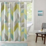Urban Habitat Parker Printed Shower Curtain