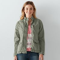 Women's SONOMA Goods for Life™ Solid Utility Jacket