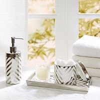 Madison Park Chevron 3 pc Bath Accessory Set
