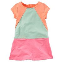 Girls 4-8 Carter's French Terry Neon Shift Dress