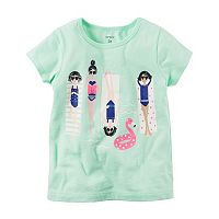 Girls 4-8 Carter's Pool Girls Graphic Tee