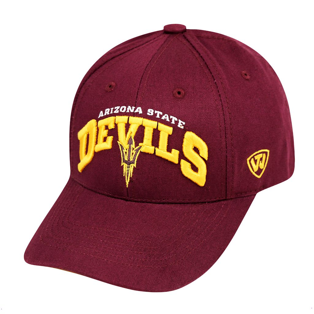 Adult Top of the World Arizona State Sun Devils Whiz Adjustable Cap
