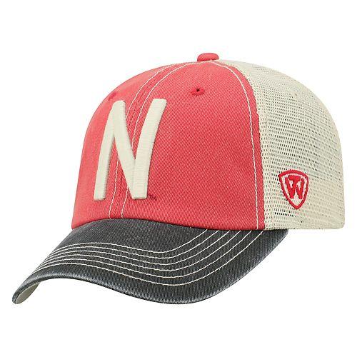 Adult Top of the World Nebraska Cornhuskers Offroad Cap