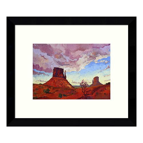 The Guardians Desert Framed Wall Art
