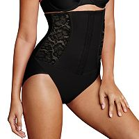 Maidenform Shapewear Firm Foundations Waist Nipping Brief Shaping Panty DM5003