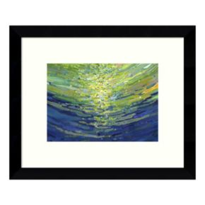 Coral Waves II Framed Wall Art