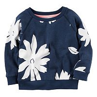 Girls 4-8 Carter's Floral Print Pullover