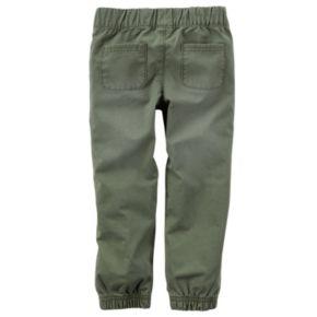 Girls 4-8 Carter's Olive Jogger Pants