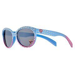 Girls 4-6x DC Super Hero Girls Supergirl Star Oval Sunglasses
