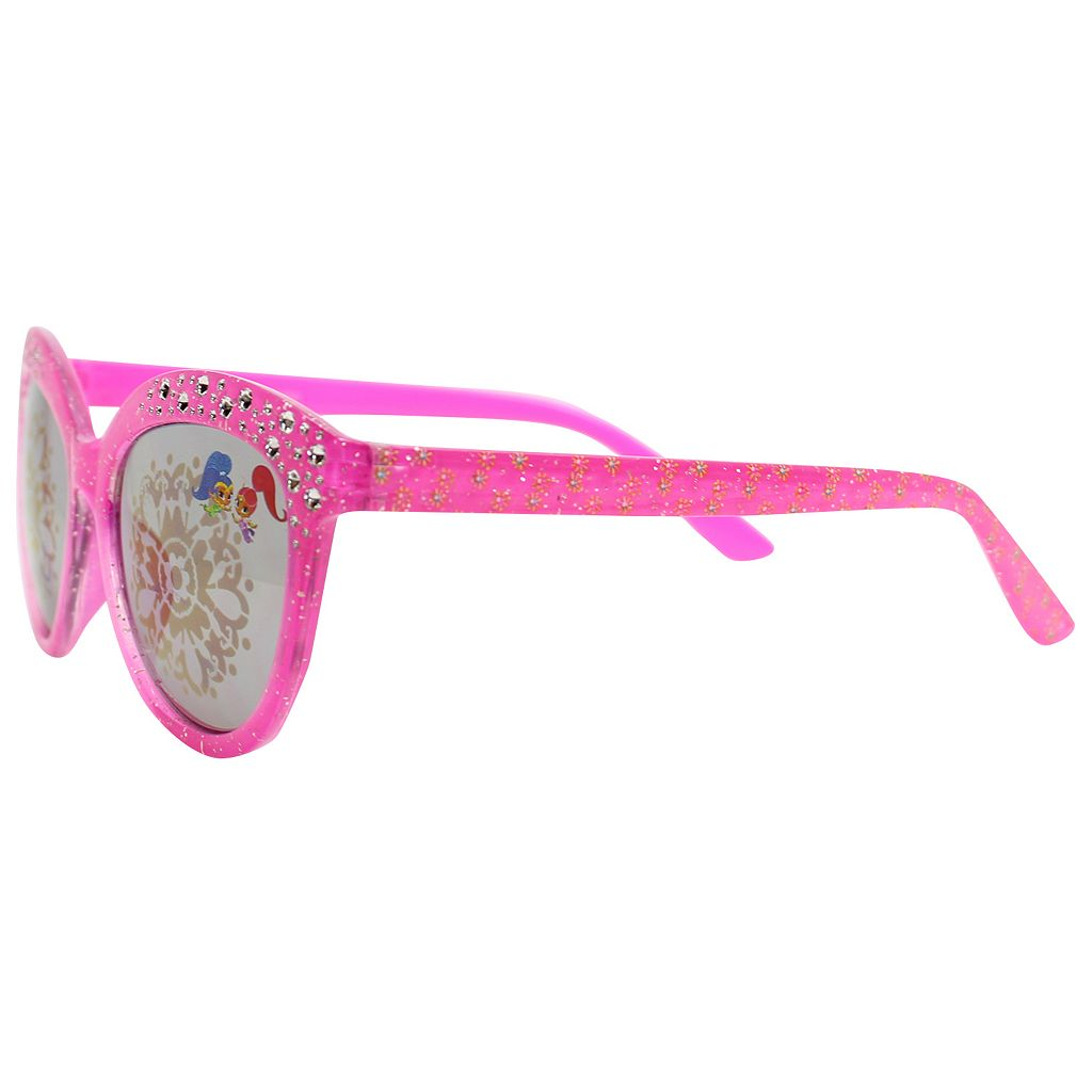 Girls 4-6x Shimmer & Shine Rhinestone Cat-Eye Sunglasses