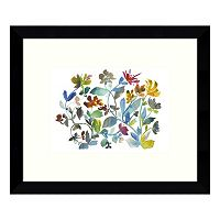 Peregrine Garden Framed Wall Art