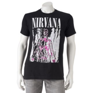 Men's Nirvana Band Tee