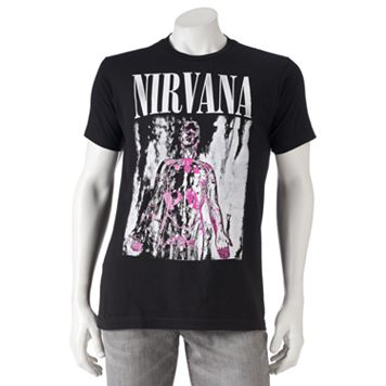 Men's Nirvana Band Tee