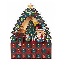 Kurt Adler Christmas Tree Advent Calendar