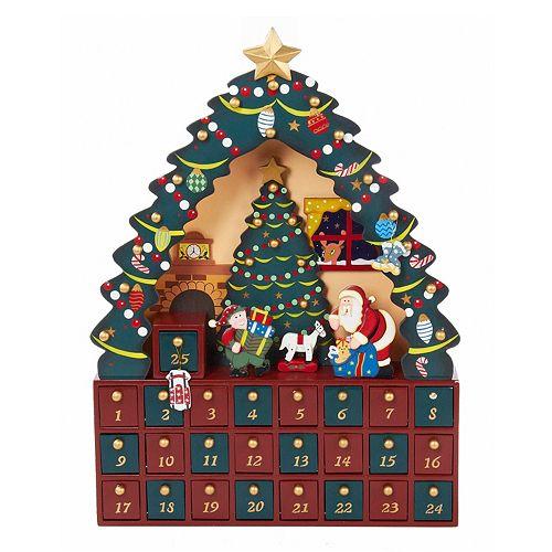 Kurt Adler Christmas Tree Advent Calendar