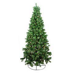 6-ft. Pre-Lit Artificial Half Christmas Tree