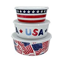 Celebrate Americana Together 3-pc. Snack Container Set